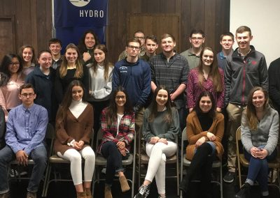 YES students from Blue Mountain toured Hydro in Cressona.