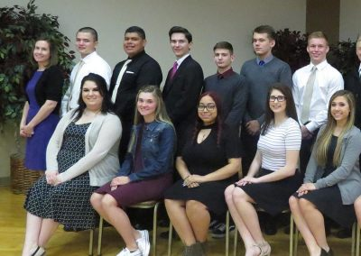 Every year, YES graduates, like this class from Mahanoy Area, are honored at our YES Recognition Breakfast.