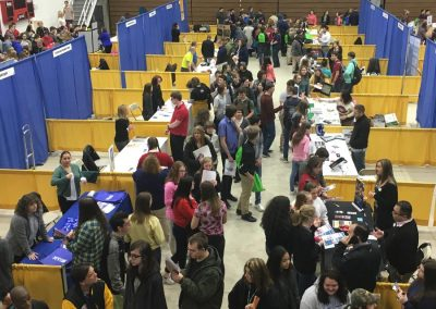Students gain valuable career related information every year at the Council's Schuylkill County Career Fair.