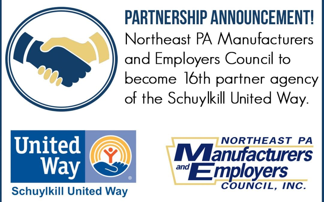 Council Becomes 16th Partner Agency of Schuylkill United Way