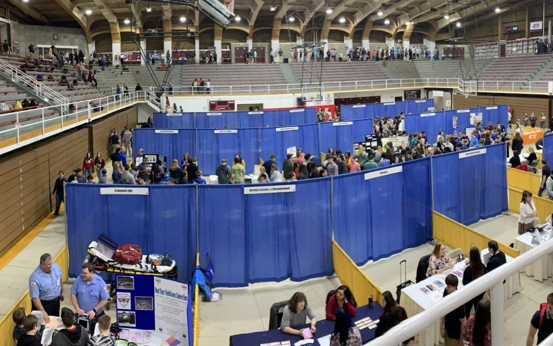 Over 1,300 Students Attend 11th Annual Career Fair